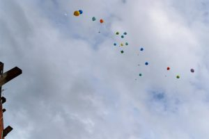 Luftballons über Hainholz © H. Hütte